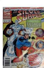 Silver Surfer (1987-1998) #Annual 6 Variant B: Newsstand Edition; Polybagged w/ Card