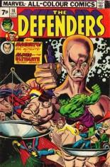 Defenders (1972-1986) #16 Variant B: UK Edition