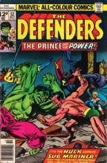 Defenders (1972-1986) #52 Variant D: UK Edition