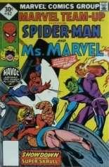 Marvel Team-Up (1972-1985) #62 Variant C: Whitman Variant