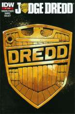 Judge Dredd (2012-2015) #1 Variant ZA: 2nd Printing