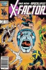 X-Factor (1986-1998) #6 Variant A: Newsstand Edition