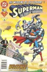 Superman: The Man of Tomorrow (1995-1999) #5 Variant A: Newsstand Edition