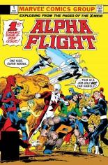 Alpha Flight (1983-1994) #1 Variant D: Facsimile Edition