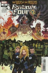 Fantastic Four (2018-2021) #10 Variant A