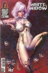 White Widow #3 Variant C: Retail Bones Lenticular Edition
