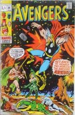 Avengers (1963-1996) #84 Variant B: UK Edition