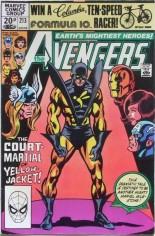Avengers (1963-1996) #213 Variant C: UK Edition