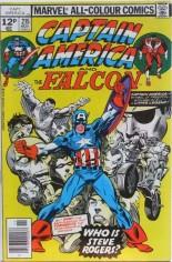 Captain America (1968-1996) #215 Variant C: UK Edition
