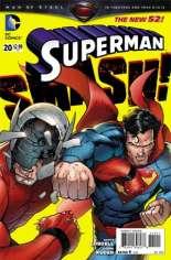 Superman (2011-2016)  #20 Variant A