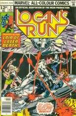 Logan's Run (1977) #3 Variant B: UK Edition