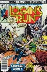 Logan's Run (1977) #7 Variant C: UK Edition