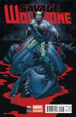 Savage Wolverine (2013-2014) #5 Variant B: Incentive Cover