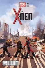 X-Men (2013-2015) #1 Variant E: Walking Dead-Pool Cover