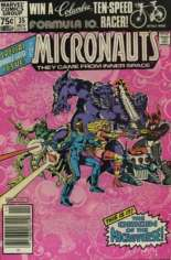 Micronauts (1979-1984) #35 Variant A: Newsstand Edition