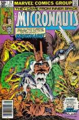 Micronauts (1979-1984) #29 Variant A: Newsstand Edition