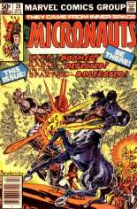Micronauts (1979-1984) #28 Variant A: Newsstand Edition