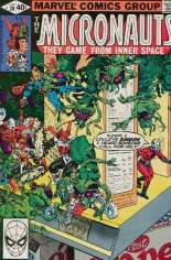 Micronauts (1979-1984) #20 Variant B: Direct Edition