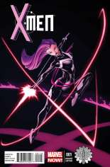 X-Men (2013-2015) #1 Variant J: Limited Edition Comix Exclusive