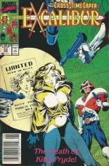 Excalibur (1988-1998) #23 Variant A: Newsstand Edition