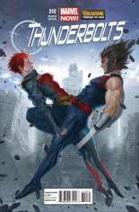 Thunderbolts (2012-2014) #10 Variant B: Wolverine Through the Ages Cover