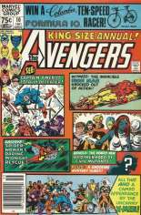 Avengers (1963-1996) #Annual 10 Variant A: Newsstand Edition