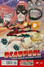 Deadpool (2012-2015) #11 Variant A