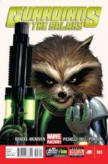 Guardians of the Galaxy (2013-2015) #3 Variant A