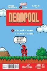 Deadpool (2012-2015) #11 Variant C: Hastings Exclusive 8-Bit Cover