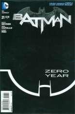 Batman (2011-2016) #21 Variant D: Sketch Cover