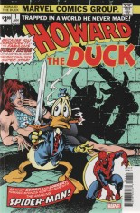 Howard the Duck (1976-1986) #1 Variant C: Facsimile Edition