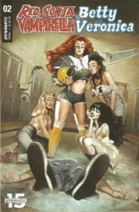 Red Sonja and Vampirella Meet Betty and Veronica #2 Variant A
