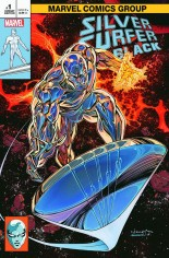 Silver Surfer Black (2019) #1 Variant J: IG Comics Trade Dress Variant