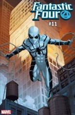 Fantastic Four (2018-2020) #11 Variant D: Spider-Man Spider-Armor MK IV Variant