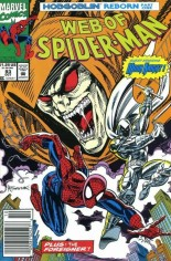 Web of Spider-Man (1985-1995) #93 Variant A: Newsstand Edition