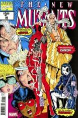 New Mutants (1983-1991) #98 Variant C: Facsimile Edition