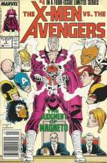 X-Men vs. the Avengers (1987) #4 Variant A: Newsstand Edition