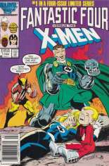 Fantastic Four vs. X-Men (1987) #1 Variant A: Newsstand Edition