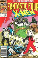 Fantastic Four vs. X-Men (1987) #3 Variant A: Newsstand Edition