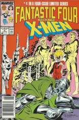 Fantastic Four vs. X-Men (1987) #4 Variant A: Newsstand Edition