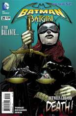 Batman and Robin (2011-2015) #21: Titled ''Batman and Batgirl''