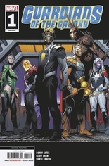 Guardians of the Galaxy (2019-2020) #1 Variant F: 2nd Printing