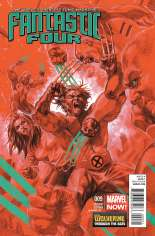 Fantastic Four (2012-2014) #9 Variant B: Wolverine Through the Ages Cover