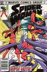 Spider-Woman (1978-1983) #48 Variant A: Newsstand Edition