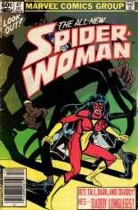 Spider-Woman (1978-1983) #47 Variant A: Newsstand Edition