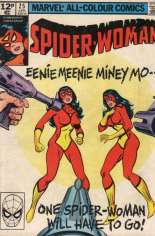 Spider-Woman (1978-1983) #25 Variant C: UK Edition