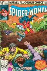 Spider-Woman (1978-1983) #24 Variant C: UK Edition