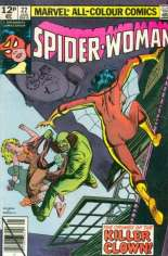 Spider-Woman (1978-1983) #22 Variant C: UK Edition
