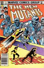 New Mutants (1983-1991) #2 Variant A: Newsstand Edition
