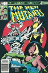 New Mutants (1983-1991) #5 Variant A: Newsstand Edition